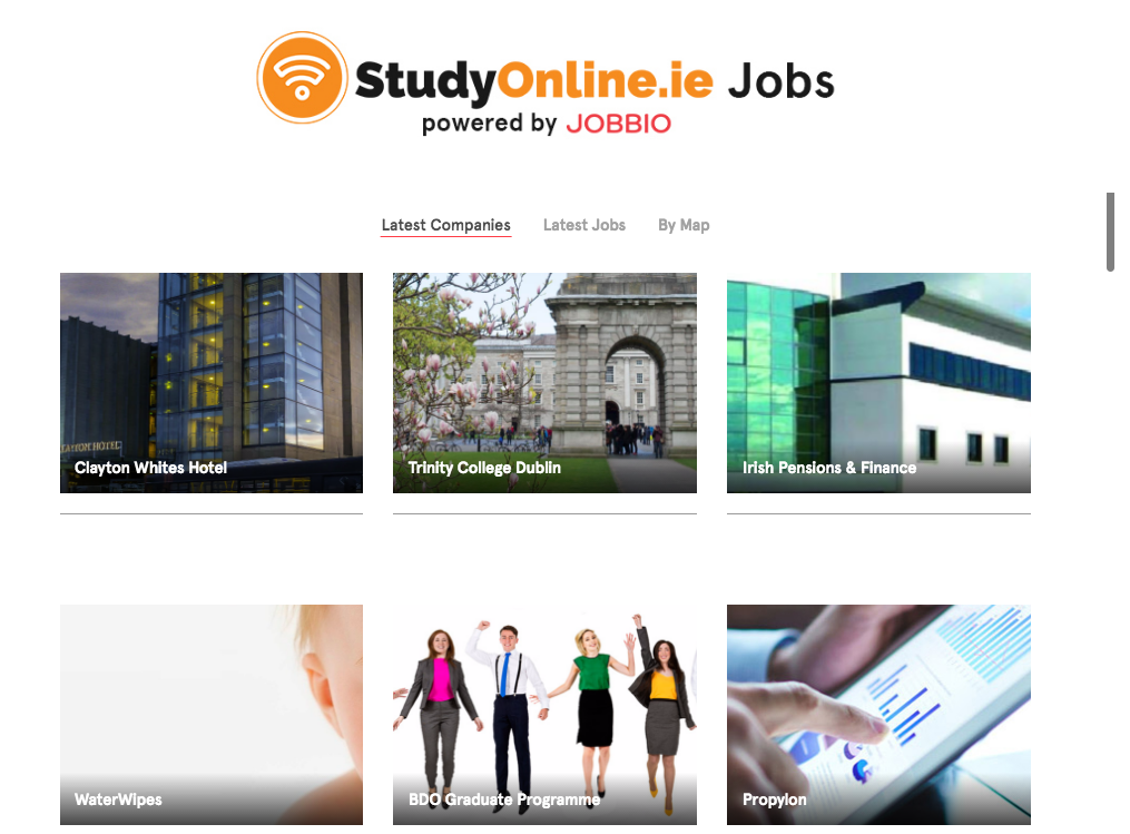 StudyOnline ie partners with Jobbio - StudyOnline ie