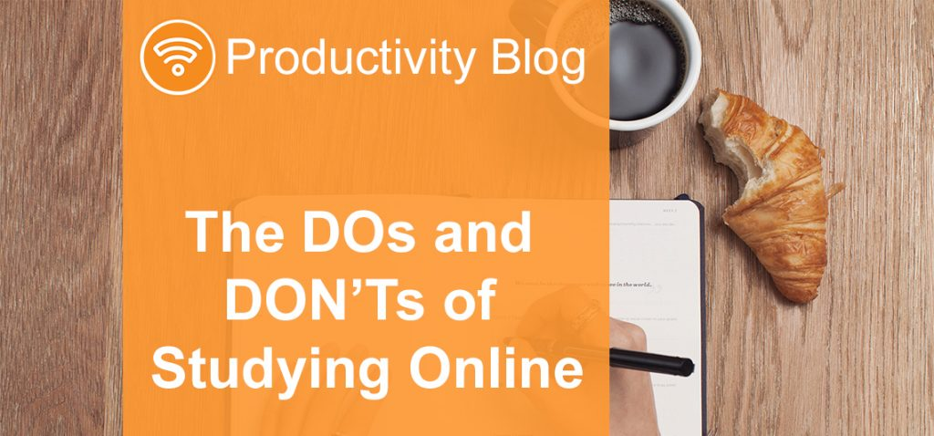The DOs and DON'Ts of Studying Online - StudyOnline ie   Blog