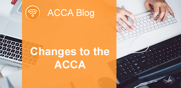 BLOG | Changes to the ACCA