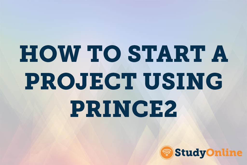 How to start a blog using Prince2