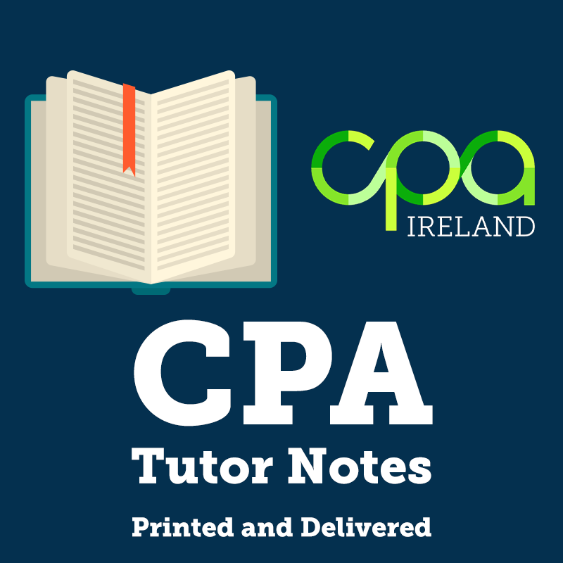 CPA Tutor Notes