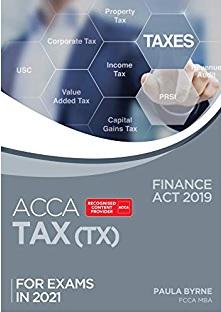 ACCA Tax Book TX